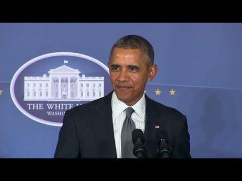 "Präsident Obama verkündigt ""We're building Iron Man"""